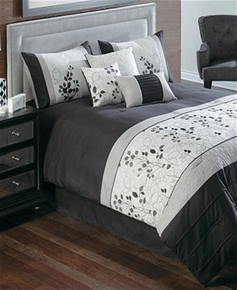 penelope comforter set penelope 7 piece california king embroidered comforter set