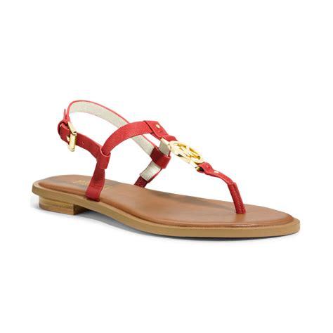michael kors sandals for lyst michael kors michael sandals in