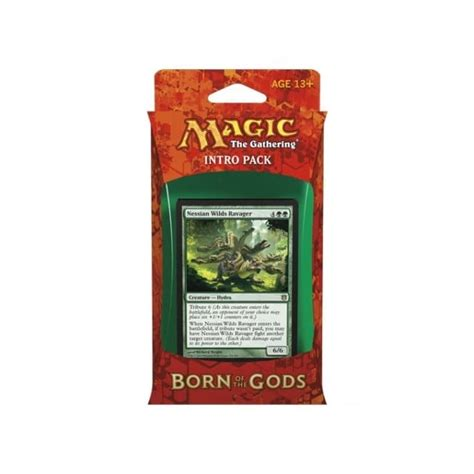 Intro Pack Born Of The Gods magic the gathering born of the gods intro pack insatiable hunger magic the gathering from