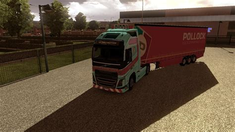pollock volvo fh  trailer modhubus
