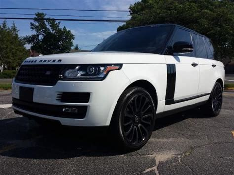 2015 range rover sunroof 2015 land rover range rover supercharged black limited