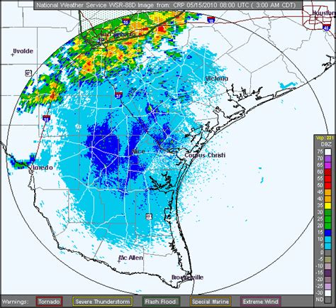south texas weather map heavy and severe weather across south tx may 14 15 2010