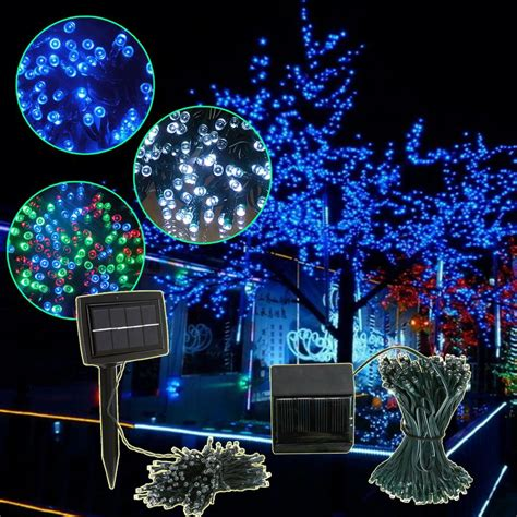 led string lights outdoor solar led christmas lights