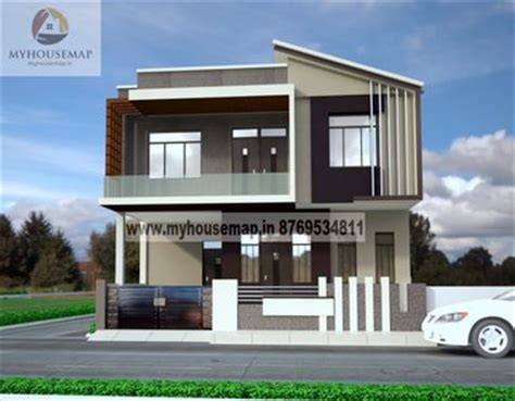 House Designs And Floor Plans In India by Exterior Front Elevation Design House Map Building Design