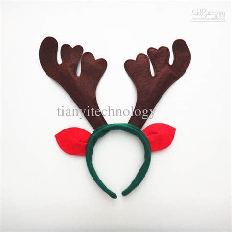 reindeer antlers ears headband christmas kids adult