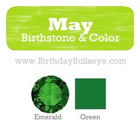 birthstone color for may the birthstones for may keep the doctor away