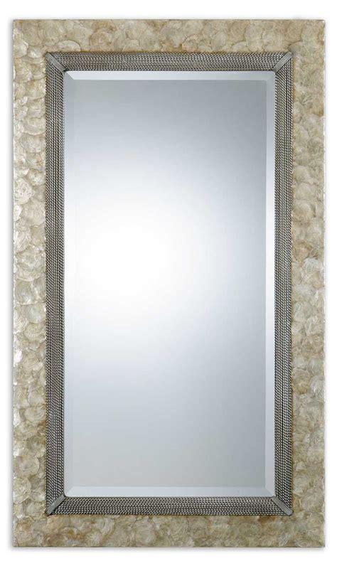 Softshell Mirror uttermost 07626 pearl shell mirror 433 40
