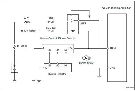 toyota rav4 air conditioning wiring diagram toyota