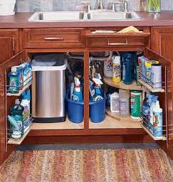 kitchen cabinets storage ideas the sink