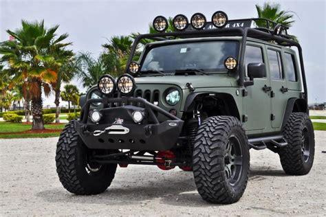 army green jeep rubicon jk resurected rccrawler