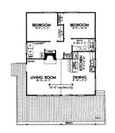 two bedroomed house plans