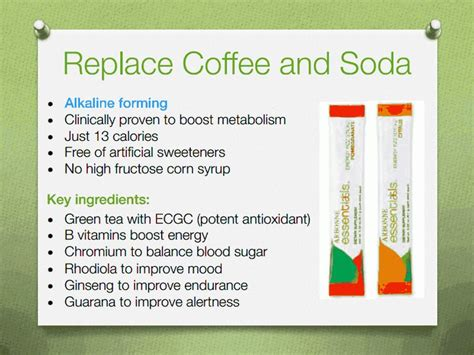 How Much Does The Arbonne Detox Cost by Replace Coffee And Soda With Arbonne Fizz Sticks They Are