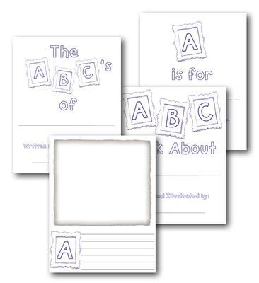 printable alphabet book template 29 images of abc book page template infovia net
