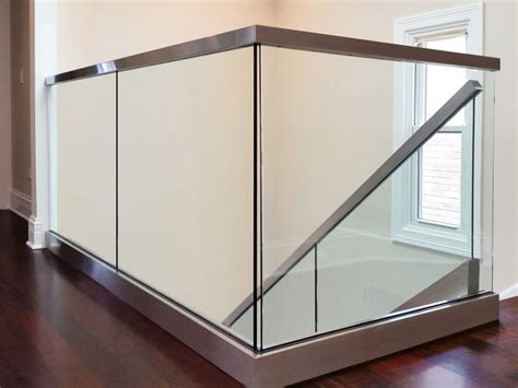 Handrail For Shower Glass Railings Creative Mirror Amp Shower
