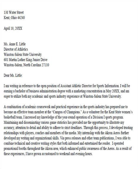 Writing An Academic Cover Letter by 6 Sle Academic Advisor Cover Letter Free Sle Exle Format