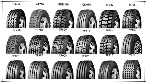 tread pattern name brand trcuk tire 1200r20 from leading tires company in