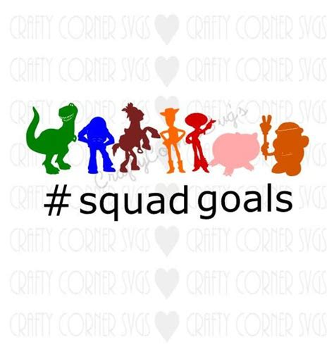 Disney In Squad story svg story squad goals disney inspired svg