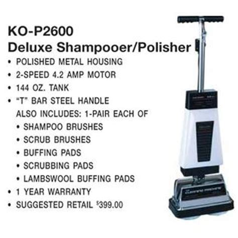 koblenz heavy duty floor scrubber cleans carpet hardwood