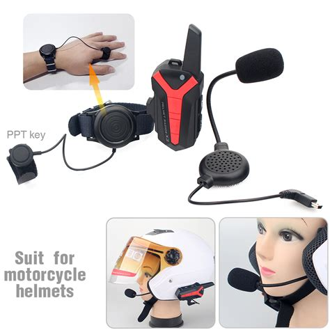 2016 Updated 2* 3000M Motorcycle Bluetooth Headset Group