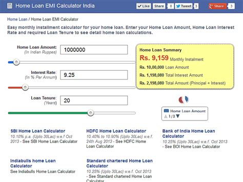 icici bank housing loan emi calculator smart home emi calculator 1mobile com