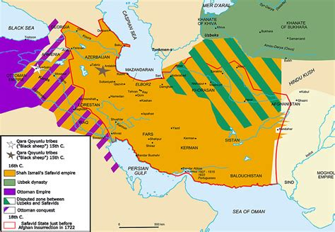 was persia part of the ottoman empire notes on the safavid empire