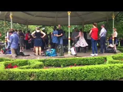 swing dancing dublin swing dance in stephens green dublin aug 2017 youtube