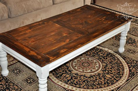 Coffee Table Redo Cherished Bliss How To Refinish A Coffee Table Top