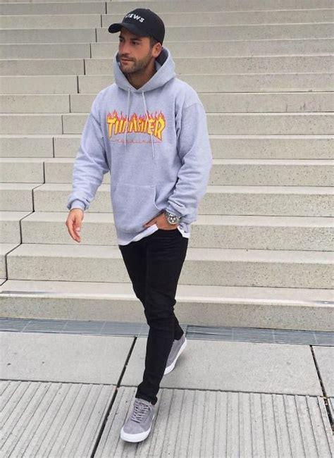 Sweater Thrasher Black Plece Tebal 71 best thrasher images on style mens