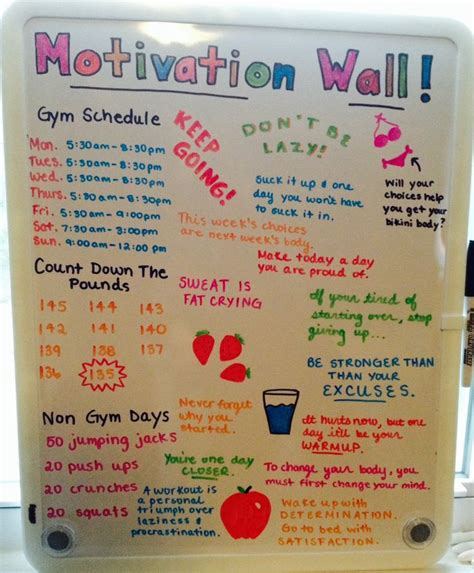 how to lose weight in your bedroom motivation wall for bedroom fitness pinterest so