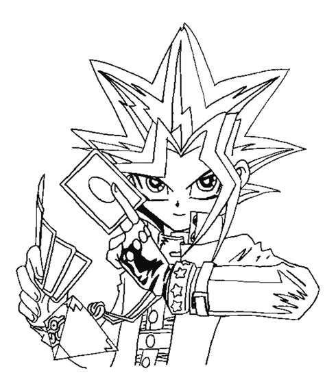 Yugioh Coloring Page yu gi oh coloring pages coloring pages to print