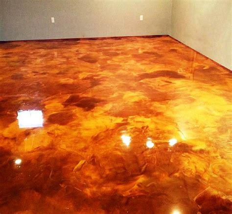 Metallic Floor Metallic Floors Images
