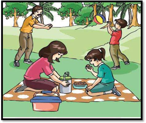 Buku Kerja Tematik Pengetahuan Alam 3b Sd Kelas Iii Ktsp 2006 gambar kartun keluarga membersihkan rumah otomatisasi