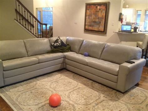 galaxy sectional new couch and finishing touches