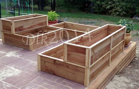raised garden beds plans ana white raised garden beds diy projects
