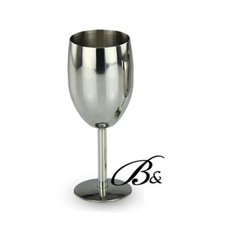 Discount Bar Glasses Discount Stainless Steel Wine Wine Glasses Goblet Cup