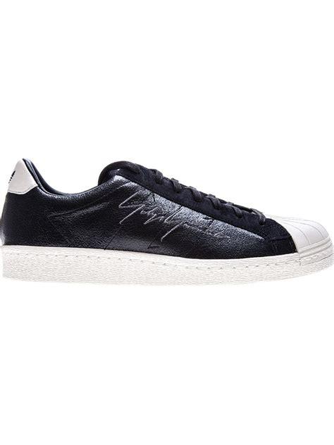 metallic adidas sneakers yohji yamamoto x adidas metallic sneakers in black for