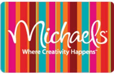 Michaels Craft Store Gift Card - michaels gift card christmas bday list 13 pinterest