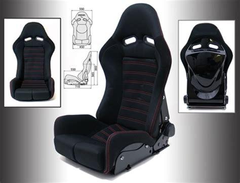 reclinable bucket seats gs reclinable bucket seat