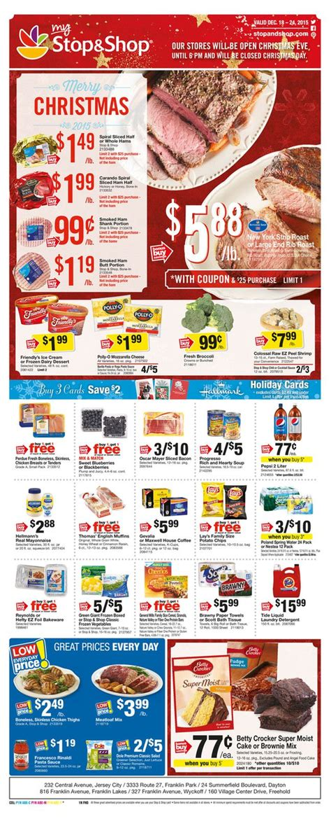 pin   catalog  olcatalogcom weekly ads stop shop shopping flyer layout