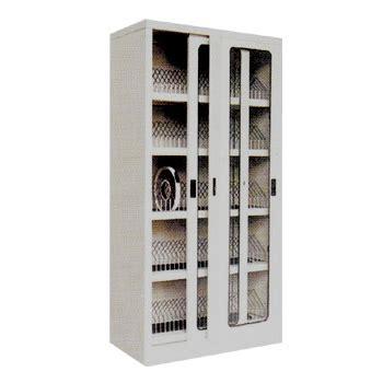 Lemari Arsip Besi Pintu Geser Kaca sliding glass door cupboard alba type sdg 206 3d jual