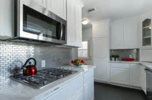 kitchen stainless steel backsplash stainless steel 1 quot x 3 quot kitchen backsplash subway tile