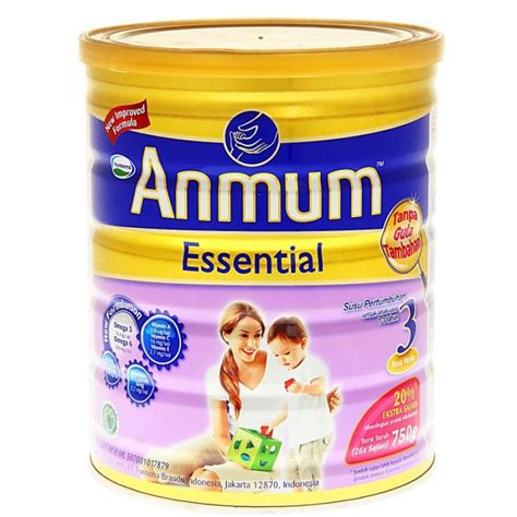 Anmum Essential 3 Nuelipid 750 G anmum essential 3 vanila 750gr