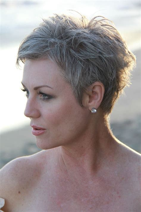 pixie hairstyles for grey hair 108 best images about just hair on pinterest short hair