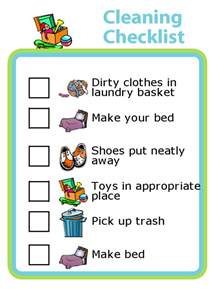 Sink Doctor by Cleaning Checklists With Pictures For Kids The Trip Clip