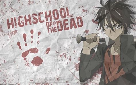 highschool of the dead season hotd season 2 anime amino