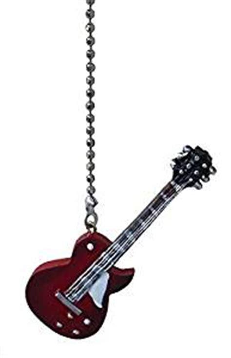 Electric Guitar Ceiling Fan Pull Light Chain Extender Guitar Ceiling Fan