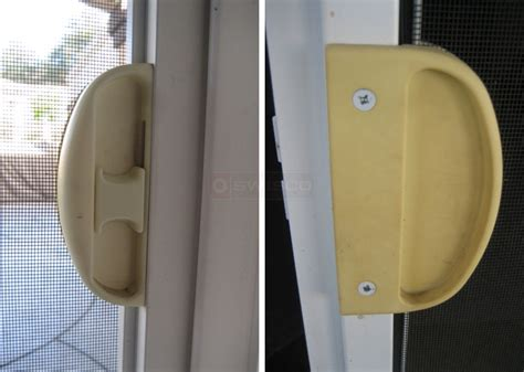 Iwc Patio Door Handle Iwc Sliding Screen Door Need Latch And Pull Swisco