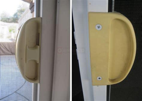 iwc sliding screen door need latch and pull swisco