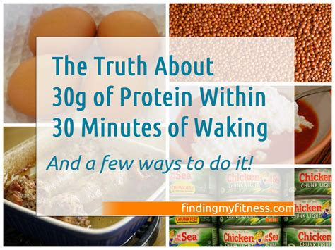 protein 30 grams the about 30g protein within 30 minutes of waking