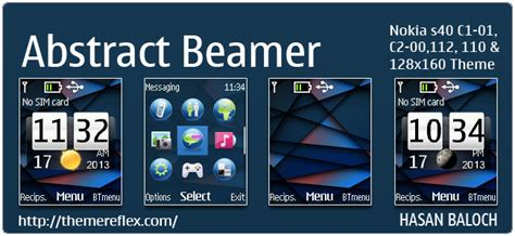 live themes c1 abstract beamer live theme for nokia c1 01 c1 02 c2 00